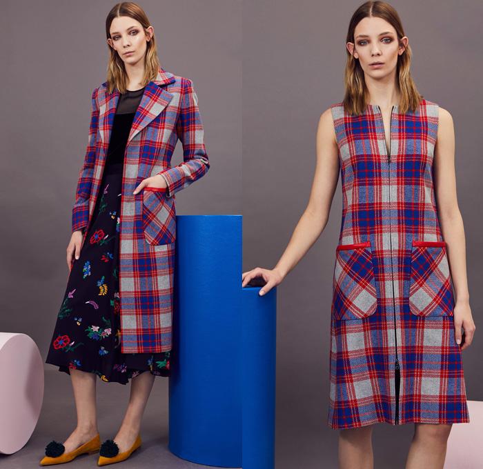 Color blocking dress 2018