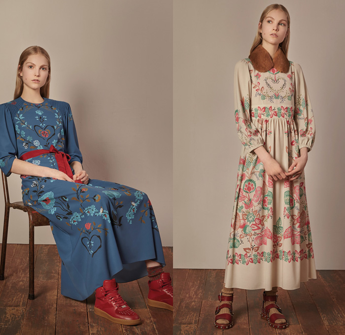 Red Valentino 2017-2018 Fall Winter Womens Looks | Denim ...