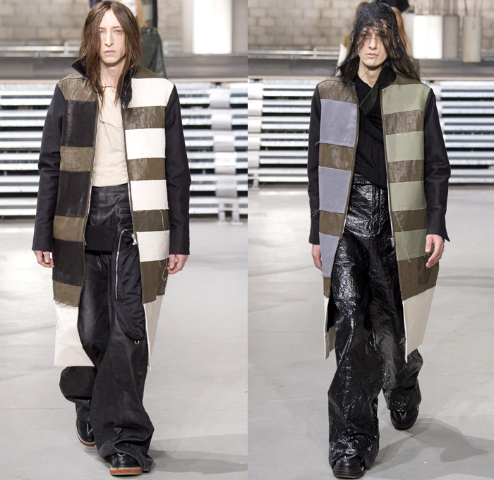 Rick Owens 2017-2018 Fall Winter Mens Runway
