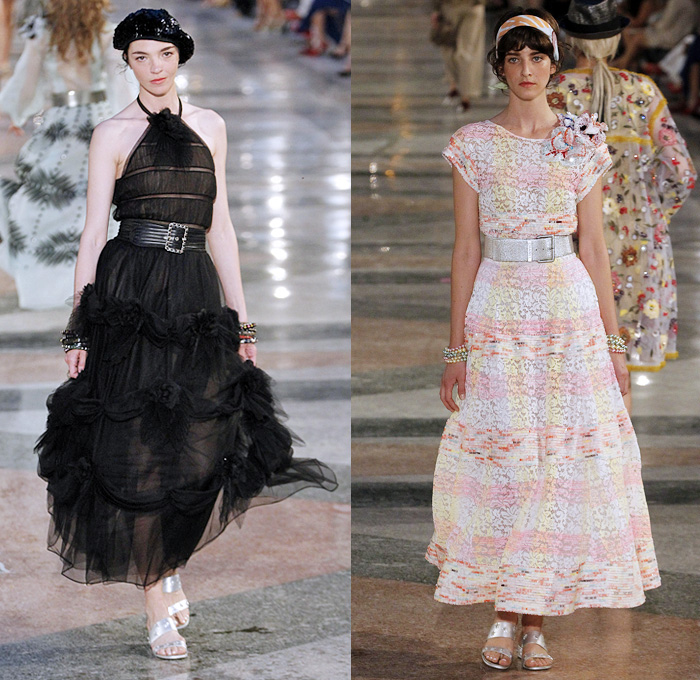 chanel 2017. chanel 2017 resort cruise pre-spring womens runway catwalk looks collection karl lagerfeld - havana 1