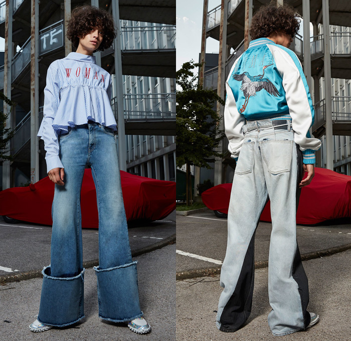 Off-White 2017 Resort Cruise Pre-Spring Womens Lookbook Presentation -  Denim Jeans Frayed c0846fa974