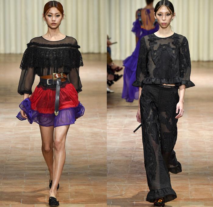 Alberta Ferretti 2017 Spring Summer Womens Runway Catwalk Looks - Milano  Moda Donna Collezione Milan Fashion