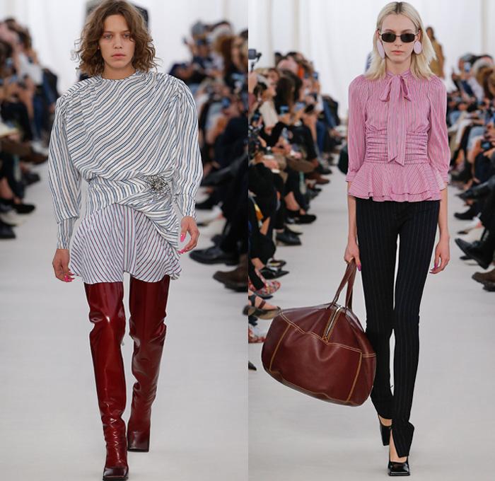 Balenciaga 2017 Spring Summer Womens Runway Denim Jeans