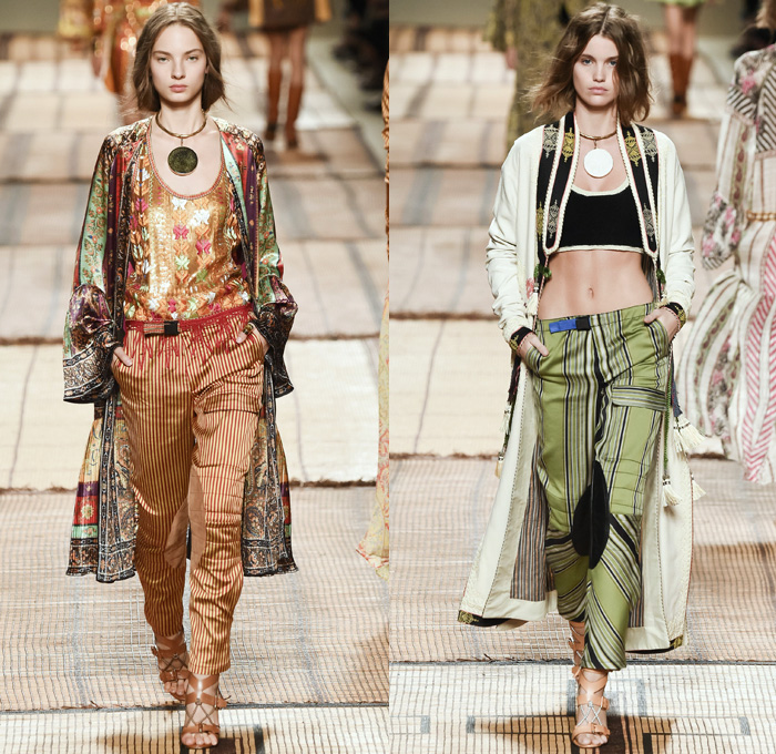 Etro 2017 Spring Summer Womens Runway Catwalk Looks