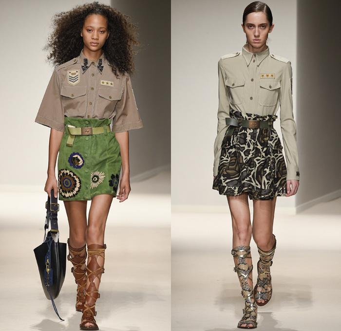 Fay 2017 Spring Summer Womenswear Catwalk Looks Denim