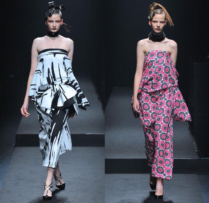 Yoshikimono 2017 spring summer womens runway denim jeans - Jeans trend 2017 ...