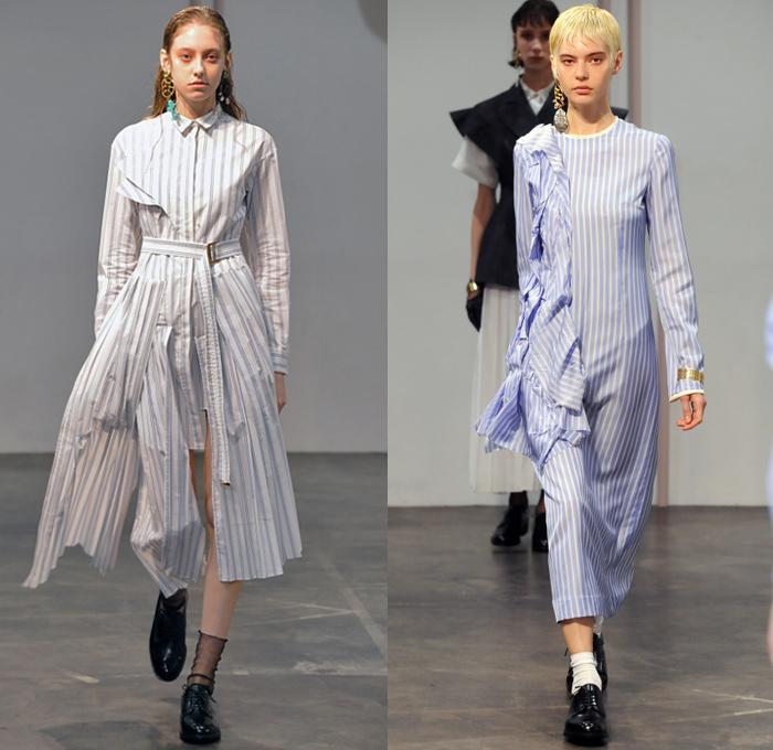 Akikoaoki 2018 2019 Fall Autumn Winter Womens Looks Denim Jeans