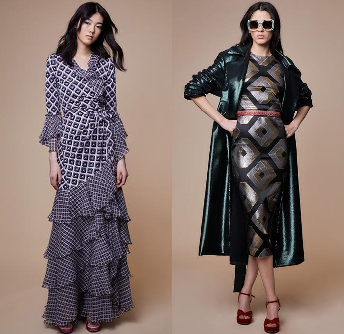 Diane Von Furstenberg 2018-2019 Fall Autumn Winter Womens | Denim Jeans Fashion Week Runway ...