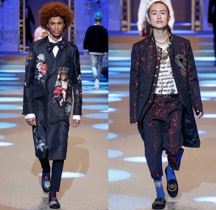 Dolce & Gabbana 2018-2019 Fall Autumn Winter Mens Runway ...