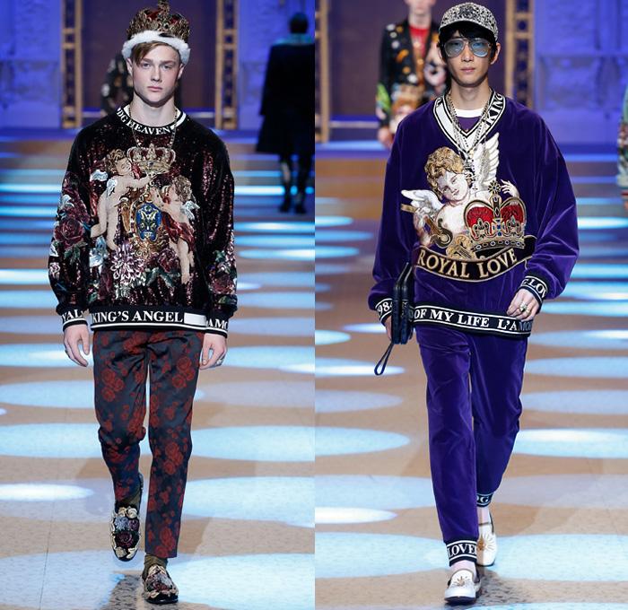 Dolce Amp Gabbana 2018 2019 Fall Autumn Winter Mens Runway