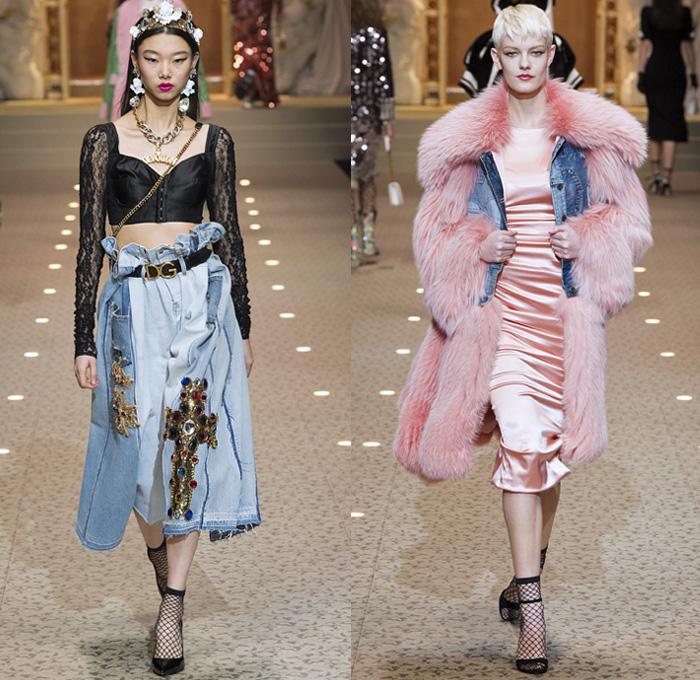 Dolce Gabbana 2018 2019 Fall Autumn Winter Womens Runway