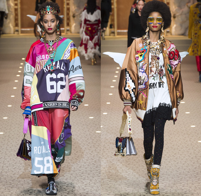 Dolce + Gabbana 2018-2019 Fall Autumn Winter Womens Runway