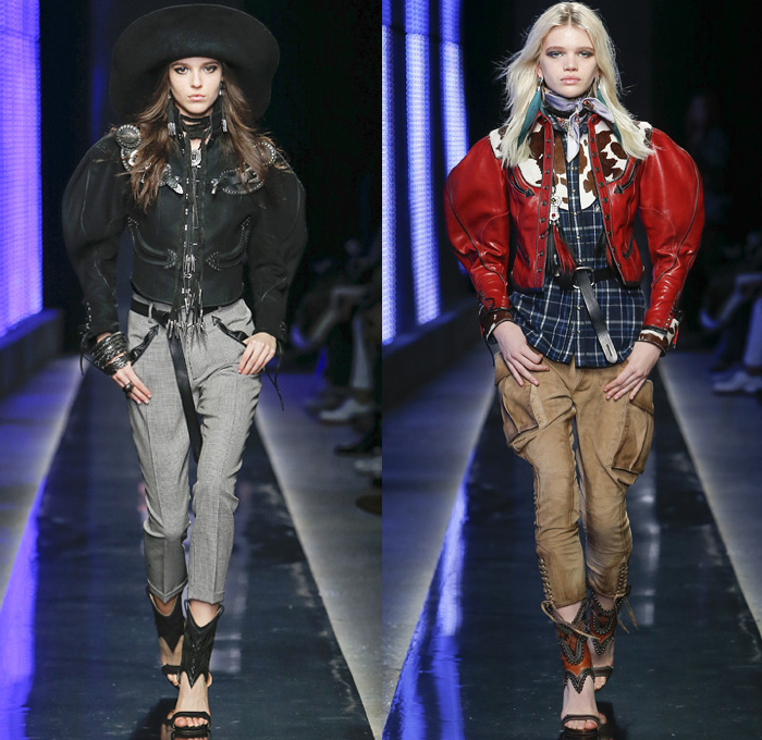 2019 Fashion For Women: Dsquared2 2018-2019 Fall Autumn Winter Womens Runway