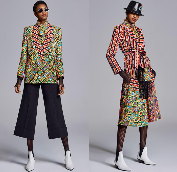 Duro Olowu 2018 2019 Fall Autumn Winter Womens Lookbook