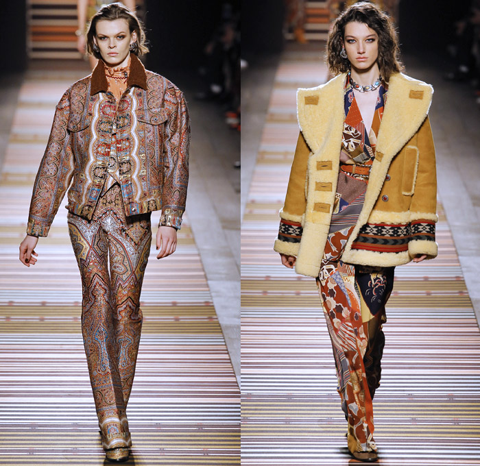 Etro 2018 2019 Fall Autumn Winter Womens Catwalk Looks