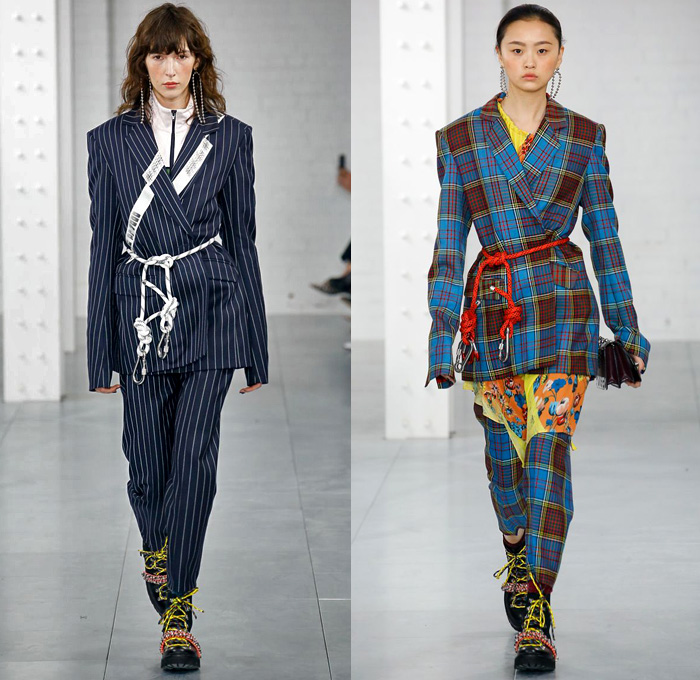 24 fashion trends for Fall/Winter Comfortwear was a red thread through the Fall/Winter shows, producing quilted volume in new proportions at Alexander McQueen, a little more classic at Chanel and hybrid forms in hi-tech fabrics at Sacai. the s and women's rights together in a colorful festival of neon.