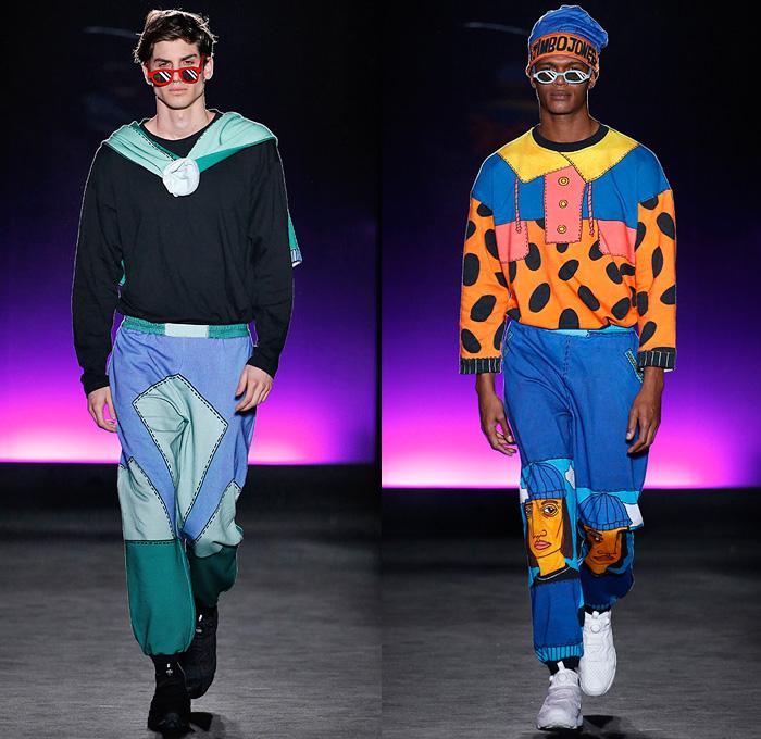 Krizia Robustella 2018 2019 Fall Autumn Winter Mens Runway Denim Jeans Fashion Week Runway