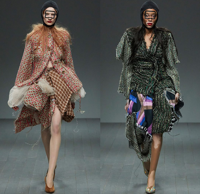 Matty Bovan 2018 2019 Fall Autumn Winter Womens Runway