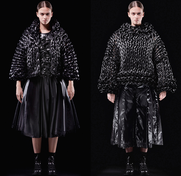 Moncler 6 Noir Kei Ninomiya 2018 2019 Fall Winter Womens