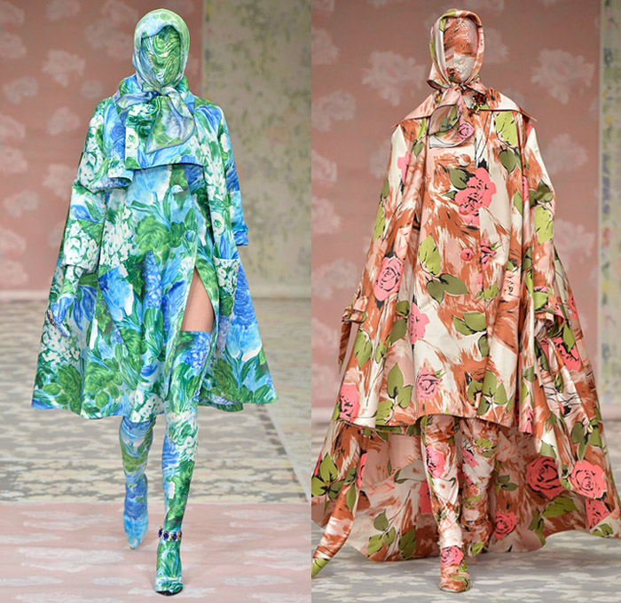 Richard Quinn 2018 2019 Fall Autumn Winter Womens Runway