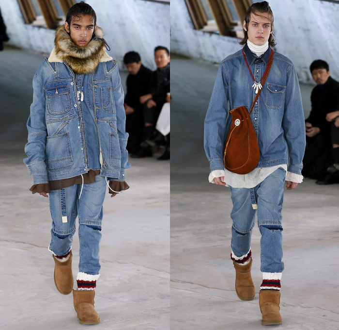 Camouflage Jeans Men