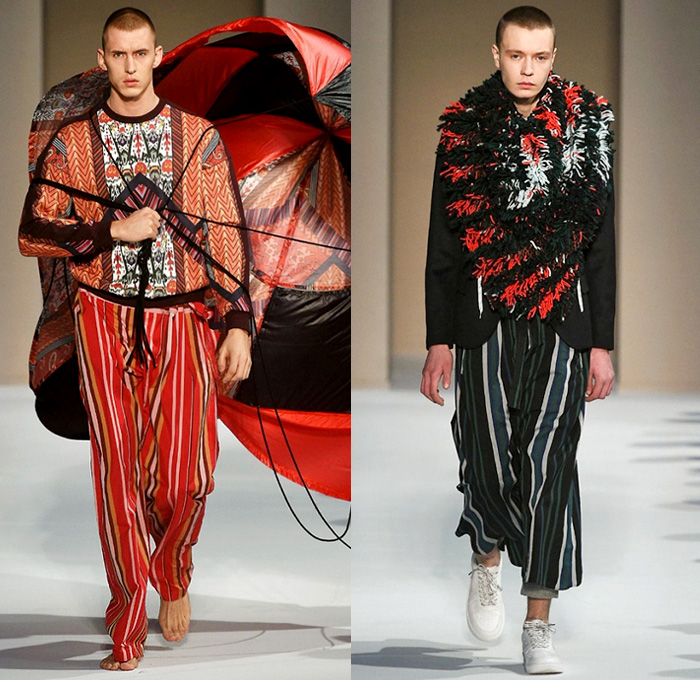 Yoshio Kubo 2018 2019 Fall Autumn Winter Mens Runway