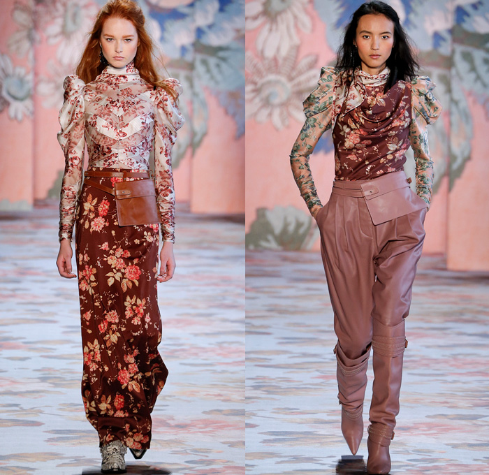 Fashion Trends Fall 2018 2019: Zimmermann 2018-2019 Fall Autumn Winter Womens Runway