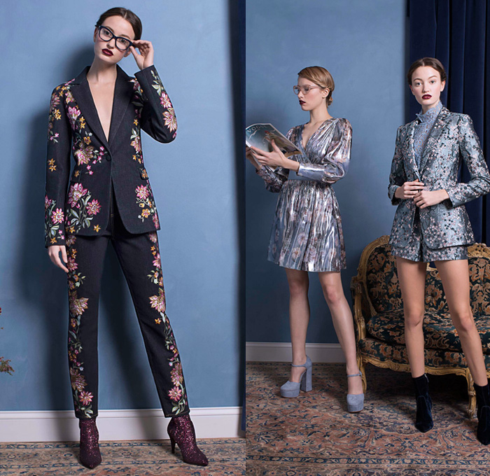Philosophy di Lorenzo Serafini Pre-Fall 2019 Collection Channels Biba-Inspired Sixties pictures
