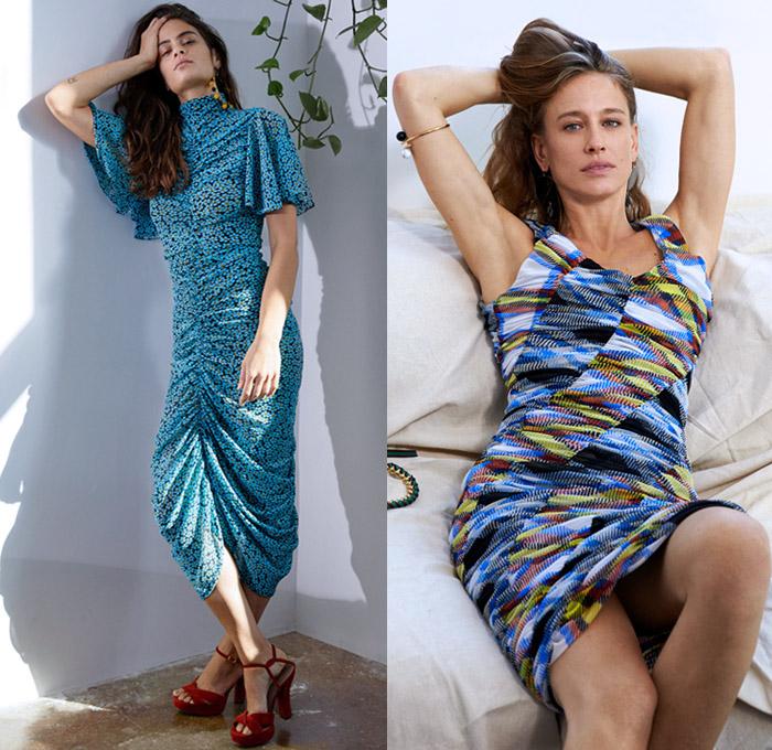 Diane Von Furstenberg 2018 Pre Fall Womens Looks Denim