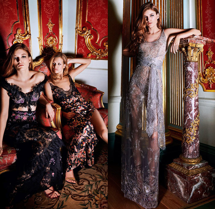Peter Dundas 2018 Pre Fall Autumn Womens Lookbook Presentation - Bohemian Boho Chic Gypsy Dress Kaftan Camouflage Flowers Floral Embroidery Velvet Decorative Art Bedazzled Sequins Lace Flapper Speakeasy Fringes Eagle Motif Robe Suede Motorcycle Biker Jacket Onesie Jumpsuit Coveralls Pantsuit Bandeau Blouse Halterneck Noodle Strap One Shoulder Strapless Sheer Chiffon Organza Tulle Tiered High Slit Dovetail Mullet Hem High-Low High Goddess Gown Maxi Dress Eveningwear Shorts Straps Heels Boots