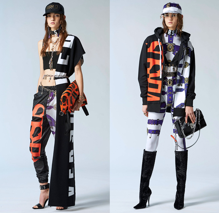 versus versace 2018 pre fall autumn womens looks