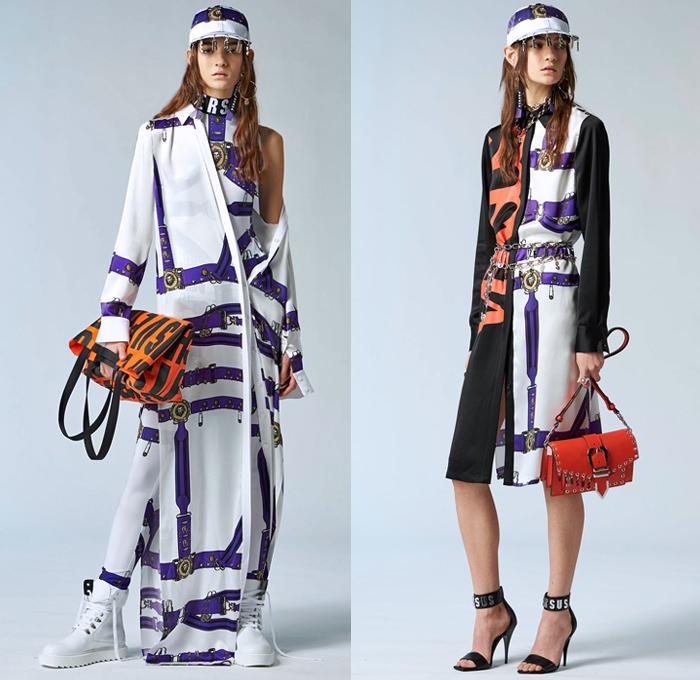 Versus Versace 2018 Pre Fall Autumn Womens Looks Denim