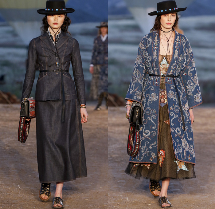 Christian Dior 2018 Resort Cruise Womens Runway Denim