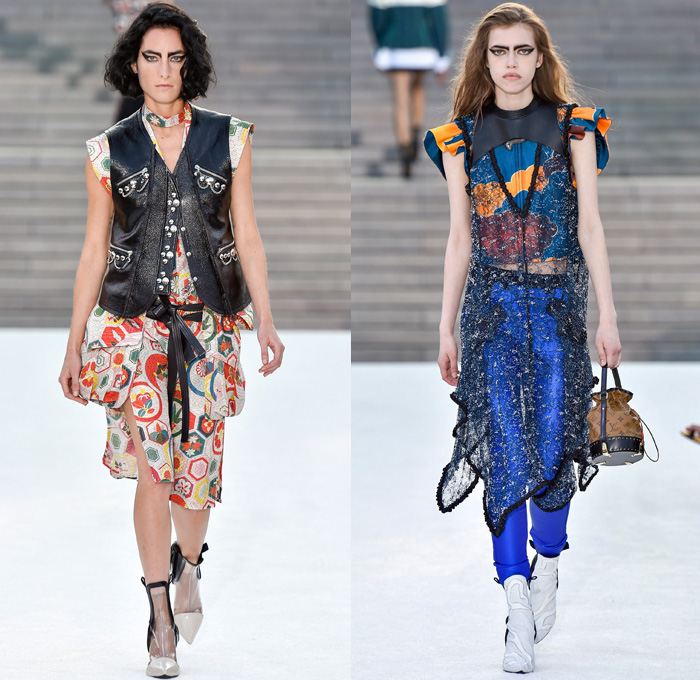 Louis Vuitton 2018 Resort Cruise Womens Runway Denim