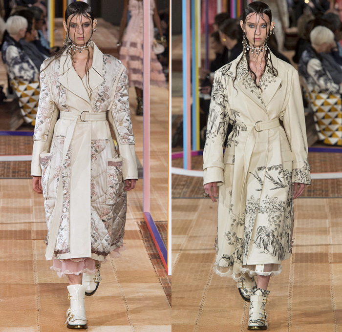 Alexander Mcqueen 2018 Spring Summer Womens Runway Denim