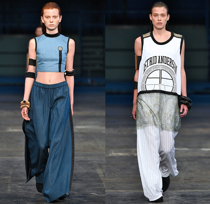 Astrid Andersen 2018 Spring Summer Womens Runway Denim