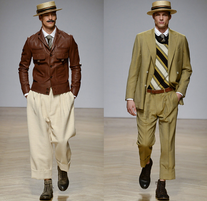 DAKS 2018 Spring Summer Mens Runway Catwalk