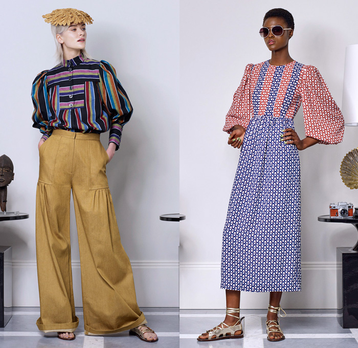 Duro Olowu 2018 Spring Summer Womens Lookbook Denim