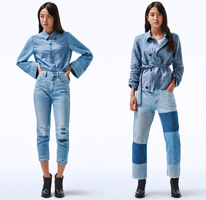 5d31de93630 G-Star RAW Amsterdam 2018 Spring Summer Womens Fashion Lookbook - Deline  Mac Motac-