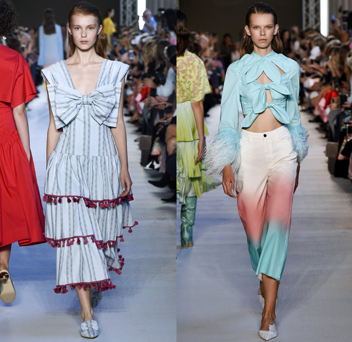 Vivetta 2018 Spring Summer Womens Runway Looks Denim