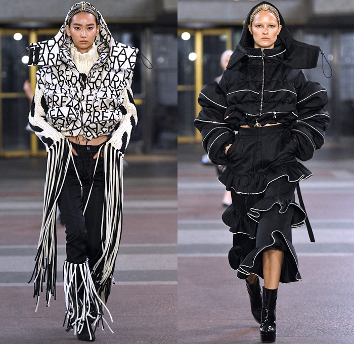 Nyc Fashion Week 2020.Area Nyc 2019 2020 Fall Autumn Winter Womens Runway Denim