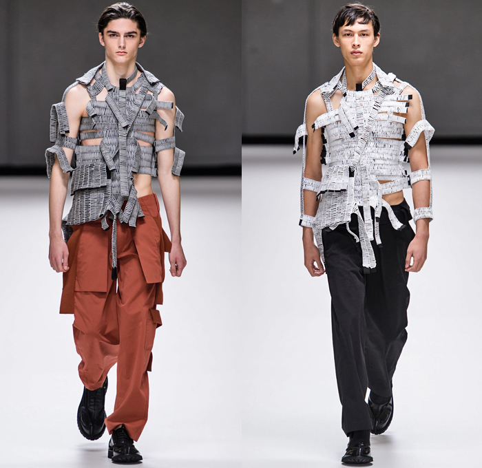 London Fashion Week September 2020.Craig Green 2019 2020 Fall Autumn Winter Mens Runway Denim