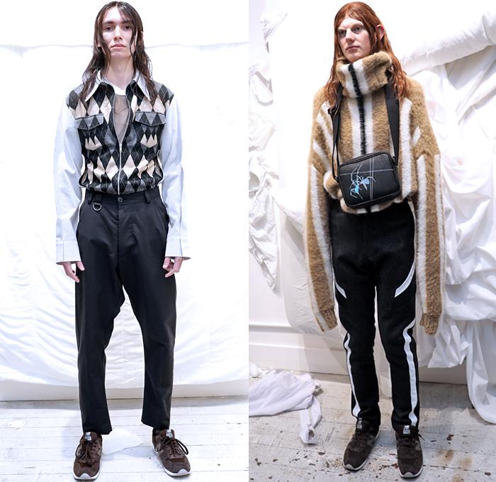 London Winter Fashion: JORDANLUCA 2019-2020 Fall Winter Mens Presentation