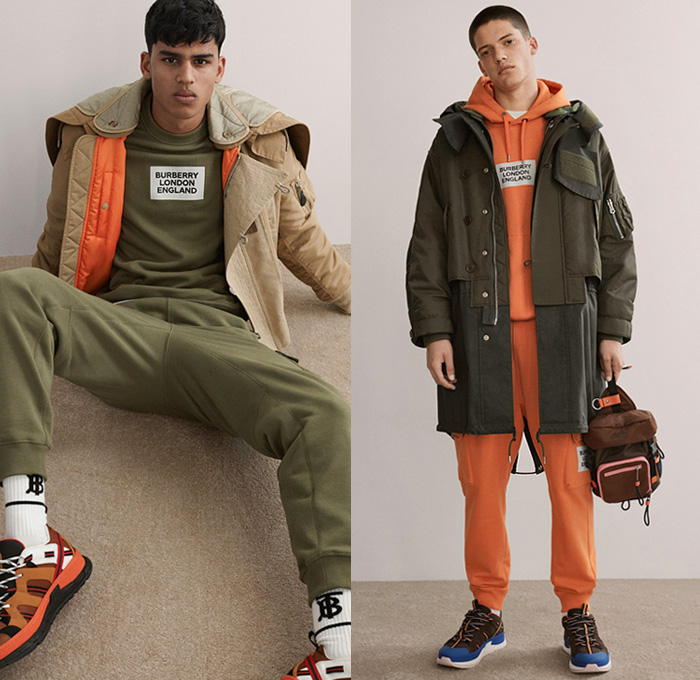 Burberry 2019 Pre Fall Autumn Mens Looks Presentation
