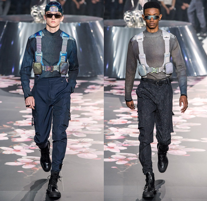 b3d18aa891d6 Christian Dior Homme 2019 Pre-Fall Autumn Mens Runway Looks Collection Kim  Jones Tokyo Japan