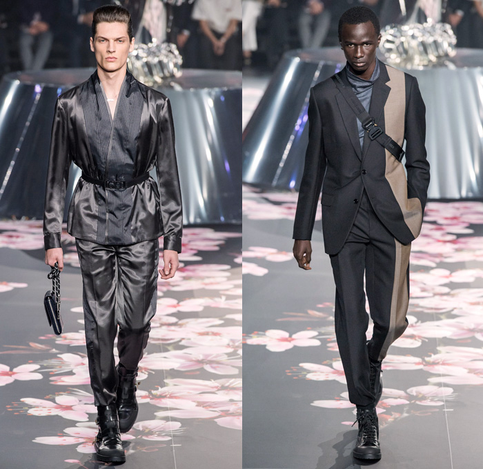Dior Homme 2019 Pre Fall Autumn Mens Runway Looks Denim
