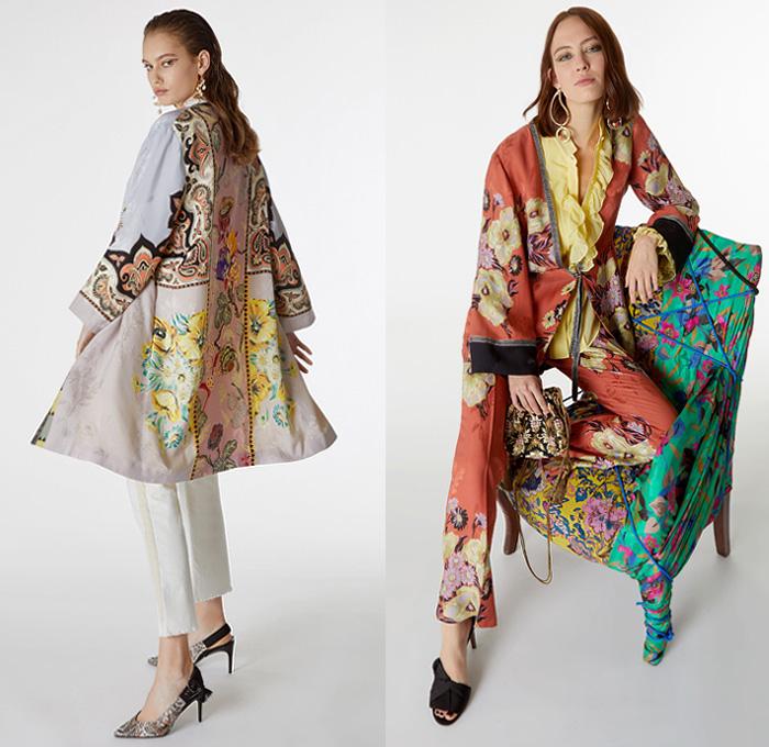 Etro 2019 Pre Fall Autumn Womens Looks Presentation