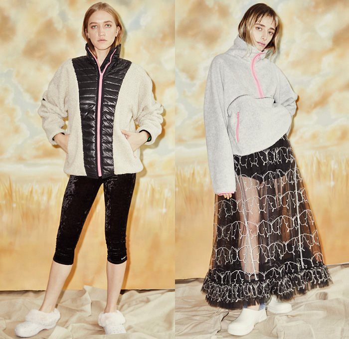 Sandy Liang 2019 Pre Fall Autumn Looks Presentation