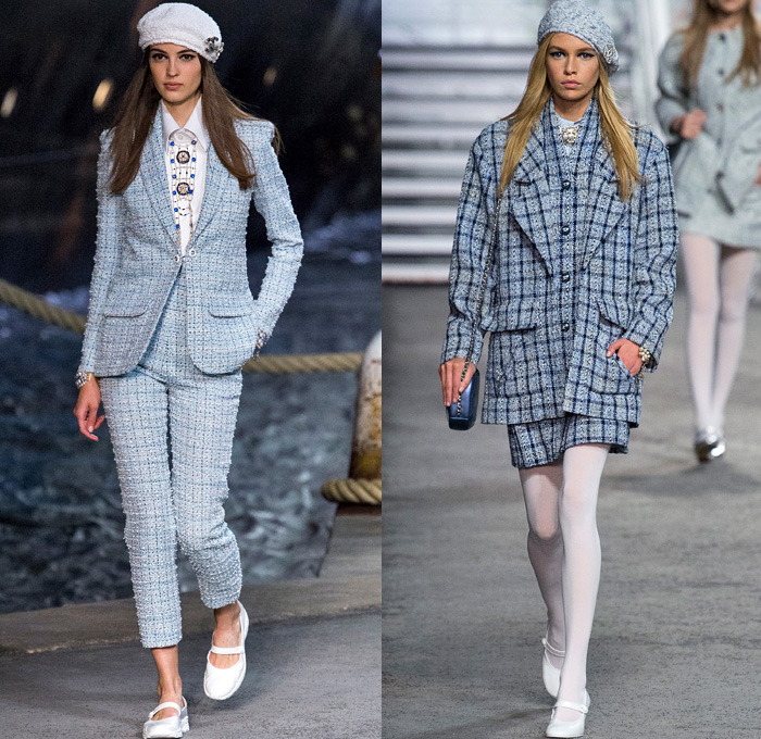 Chanel 2019 Resort Cruise Womens Runway Part 2 Denim