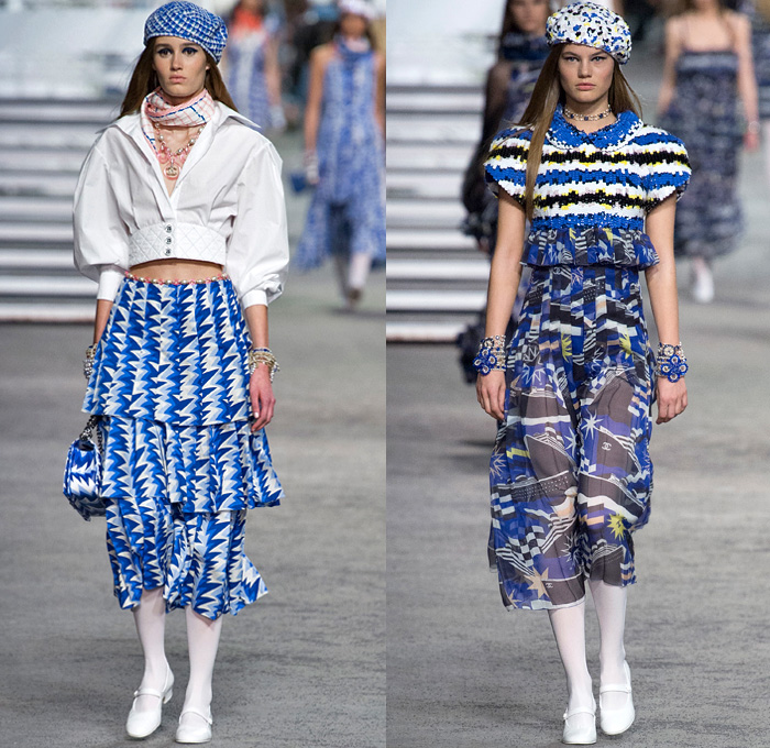 Chanel 2019 Resort Cruise Womens Runway Part 1 Denim